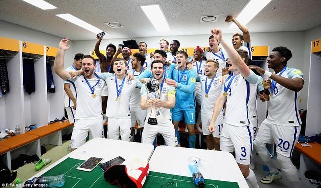 Người Anh lần đầu tiên trong lịch sử vô địch World Cup U20