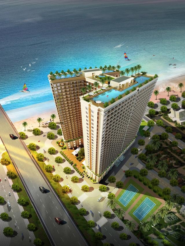 Ra mắt căn hộ thực tế dự án dát vàng Hòa Bình Green Đà Nẵng - 2