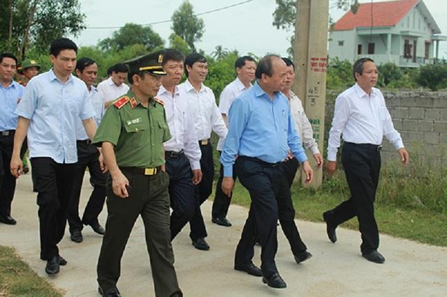 Thủ tướng Nguyễn Xuân Phúc đã có chuyến thăm và làm việc tại tỉnh Quảng Bình