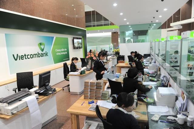 Ảnh minh họa hoạt động tại Vietcombank
