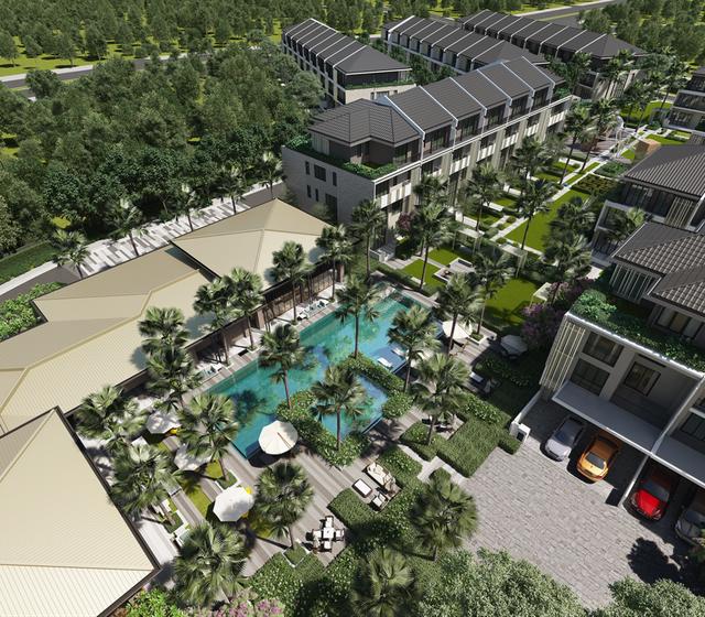 Tiểu khu The Mansions với tiện ích chuẩn resort được mở bán vào 02/12