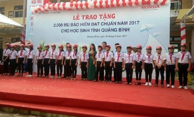 Chương trình do Bộ Giáo dục và Đào tạo phối hợp với Công ty Honda Việt Nam thực hiện