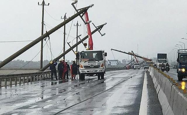 Hiện tỉnh Phú Yên đang khắc phục sự cố điện