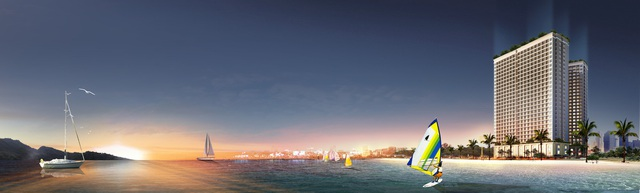 Ra mắt căn hộ thực tế dự án dát vàng Hòa Bình Green Đà Nẵng - 1