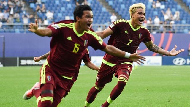U20 Venezuela giành vé vào chung kết sau loạt luân lưu nghẹt thở