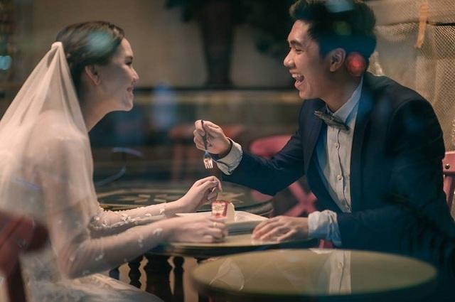 """Hài hước bộ ảnh cưới """"mê ẩm thực"""" của cặp đôi Thái Lan - 7"""