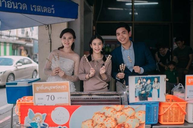 """Hài hước bộ ảnh cưới """"mê ẩm thực"""" của cặp đôi Thái Lan - 18"""