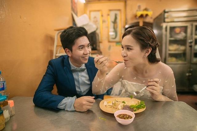 """Hài hước bộ ảnh cưới """"mê ẩm thực"""" của cặp đôi Thái Lan - 3"""