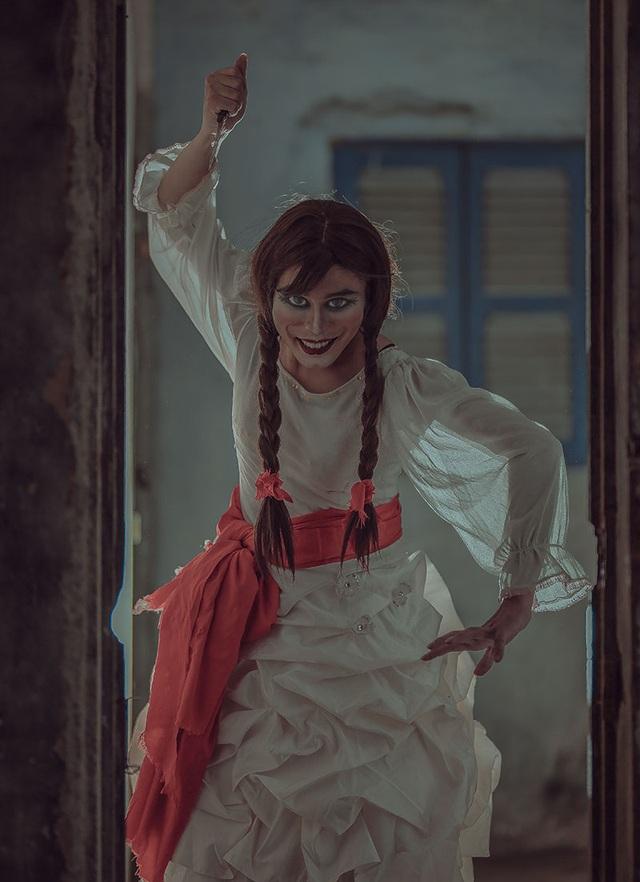 Bộ ảnh búp bê kinh dị Annabelle phiên bản Việt khiến người xem rợn gáy - 6