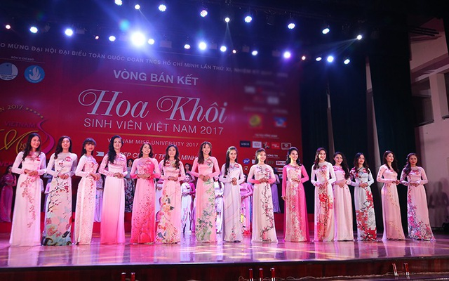 """Top 15 thí sinh xinh đẹp nhất khu vực miền Bắc của cuộc thi """"Nữ sinh viên Việt Nam duyên dáng 2017"""" đã lộ diện."""
