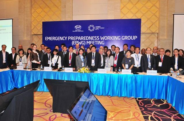 Chuỗi sự kiện Năm APEC 2017 do Việt Nam làm chủ nhà bao gồm rất nhiều cuộc họp và hội thảo, trong đó có cuộc họp của Nhóm công tác về ứng phó với tình trạng khẩn cấp (EPWG) tổ chức tại Nha Trang hồi tháng 2.