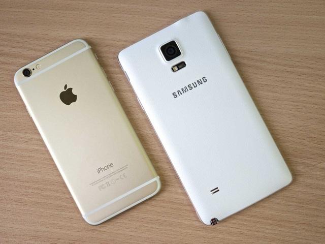 Apple đang làm giàu cho Samsung - 1