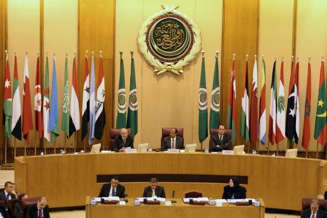 Cuộc họp khẩn của Liên đoàn Ả rập (Ảnh: Reuters)