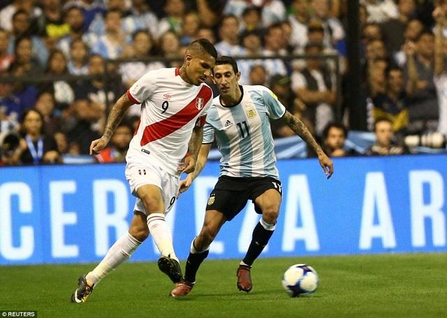 Peru đã giành được 1 điểm đầy quan trọng