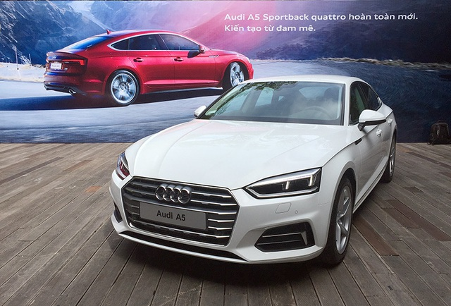 Audi A5 Sportback có mặt tại Việt Nam với sức mạnh động cơ mới - 3