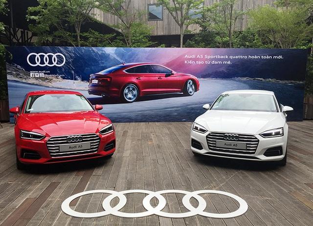 Audi A5 Sportback có mặt tại Việt Nam với sức mạnh động cơ mới - 1