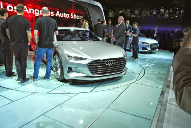 Phác hoạ đầu tiên về Audi A6, A7, A8 thế hệ mới - 1