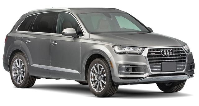 SUV hạng sang: Audi Q7 - Consumer Reports đánh giá mẫu xe này tạo cảm giác giống sedan hạng sang hơn là SUV. Hệ thống thông tin giải trí và tính năng vận hành của xe cũng rất ấn tượng.