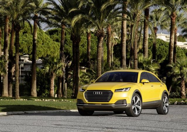 Chiếc Audi TT Offroad Concept, tiền thân của Audi Q4