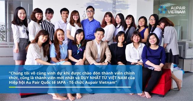 Đội ngũ nhân sự trẻ tuổi và nhiệt huyết của Tổ chức Aupair Vietnam