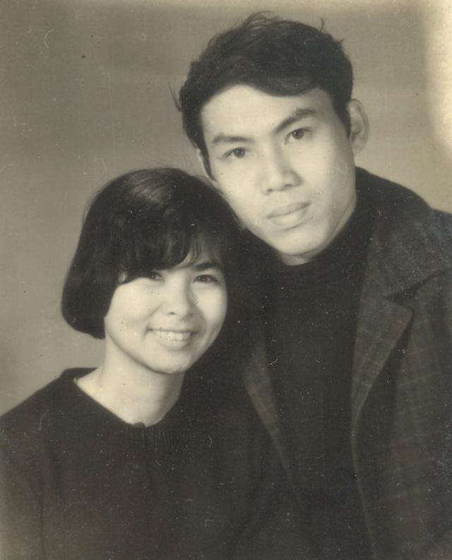 Cố nhà thơ Xuân Quỳnh và nhà thơ Lưu Quang Vũ. Ảnh: TL.