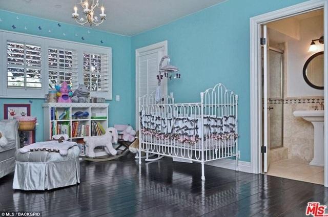 Có cả phòng ngủ dành cho trẻ sơ sinh