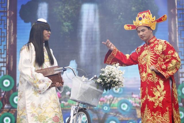 Bộ trang phục độc, lạ của Bắc Đẩu ở phần thứ 2 của chương trình cũng khiến nhiều người ngã ngửa.