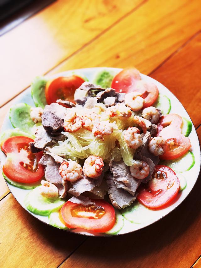 Khai vị với món salad tôm bưởi chua ngọt cực kỳ thanh mát - 2