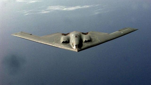Một máy bay ném bom tàng hình B-2 của Mỹ (Ảnh: Sputnik)