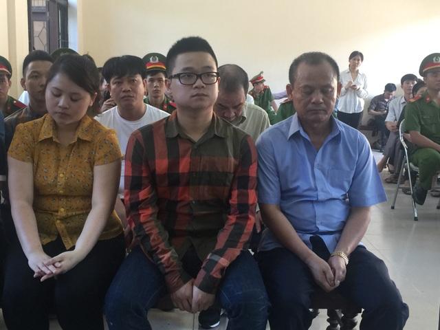Nguyễn Ngọc Minh và các đồng phạm tại phiên xét xử