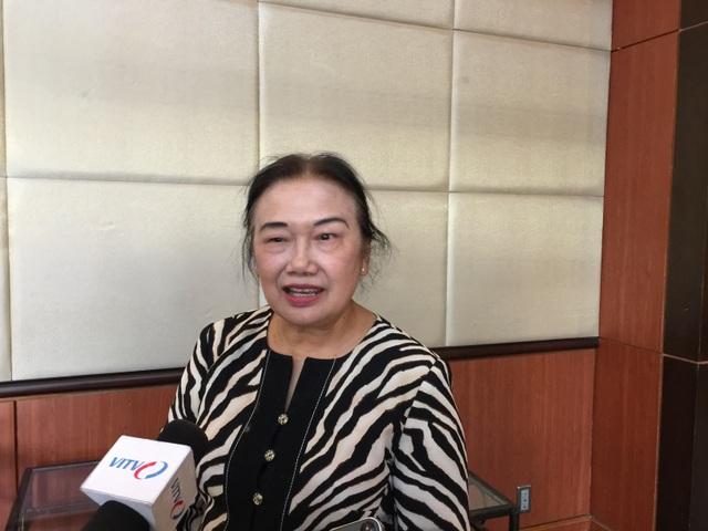 Bà Nguyễn Thị Cúc, Chủ tịch Hiệp hội tư vấn thuế