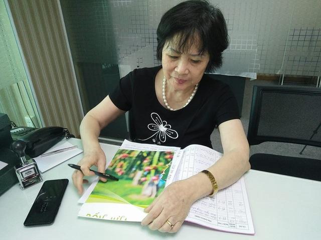 Bà Nguyễn Thị Nga - Giám đốc Trung tâm phân tích ADN và công nghệ di truyền