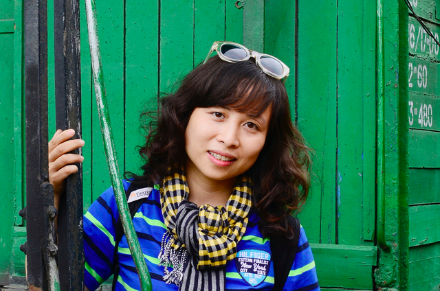 Bà Nguyễn Phương Anh - Thạc sĩ Mỹ thuật Công nghiệp, Giám đốc FPT Arena Multimedia.