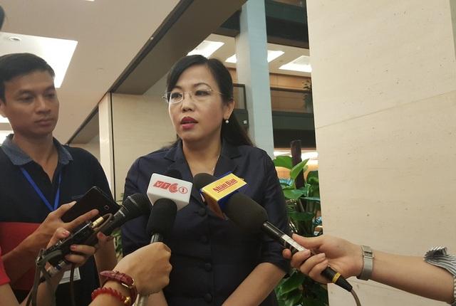 Bà Nguyễn Thanh Hải - Trưởng Ban Dân nguyện của Quốc hội (Ảnh: T.K)