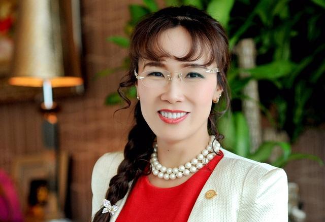 Bà Nguyễn Thị Phương Thảo sở hữu trực tiếp và gián tiếp 32,66% vốn điều lệ VietJet