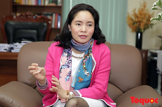 Bà Trịnh Thị Thuỷ (Ảnh: Báo điện tử Tổ Quốc)