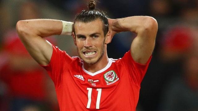 Gareth Bale không thể giúp xứ Wales góp mặt ở World Cup 2018