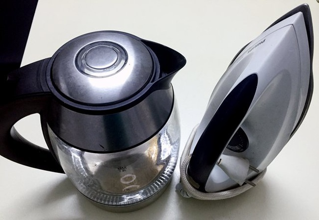 Bình, bếp điện đun nước và bàn là được thoát tiền kiểm về chất lượng khi nhập khẩu về Việt Nam