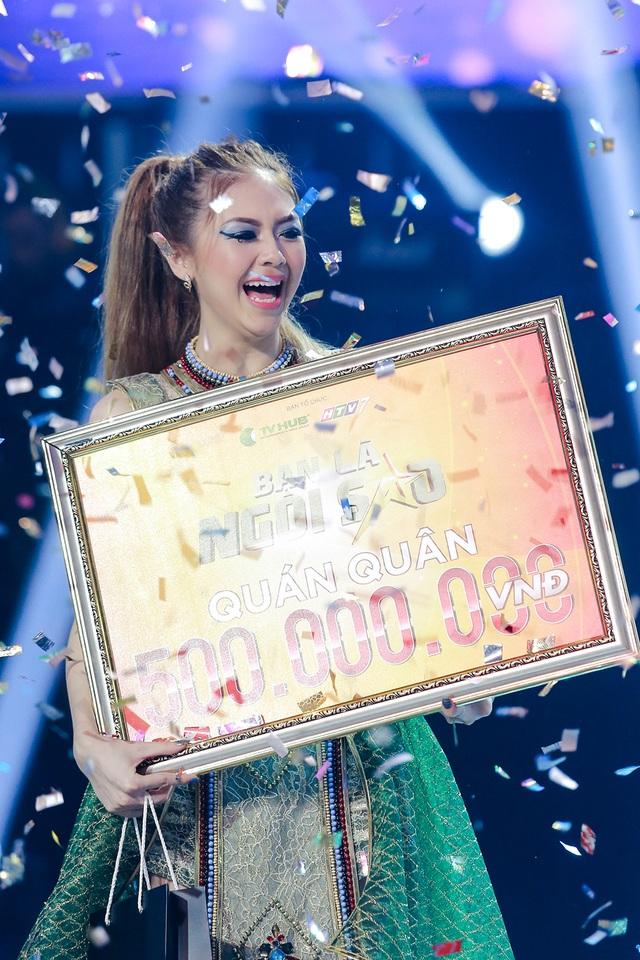 Sau 3 phần thi, Liz Kim Cương đã xuất sắc giành ngôi vị quán quân mùa đầu tiên của Be A Star – Bạn Là Ngôi Sao với 18847 bình chọn.