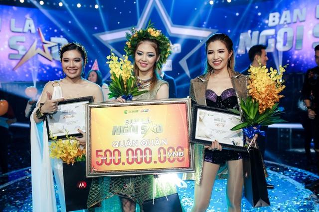 Kiều Oanh đạt Á quân với 17774 lượt bình chọn. Shin Hồng Vịnh với 15342 bình chọn nhận vị trí thứ ba.
