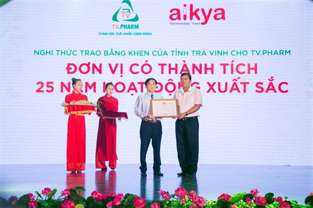 TV.Pharm - Dược được nhận bằng khen của tỉnh Trà Vinh