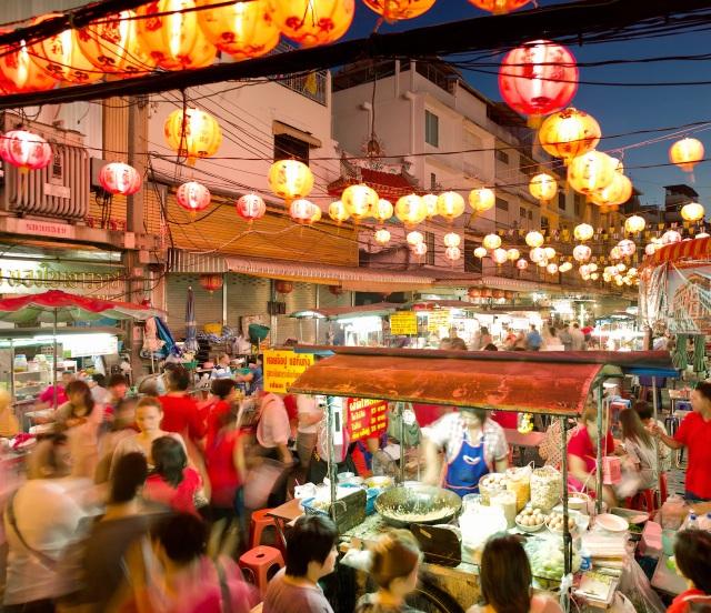Thái Lan là một trong những điểm du lịch hấp dẫn ở Đông Nam Á với du khách nước ngoài