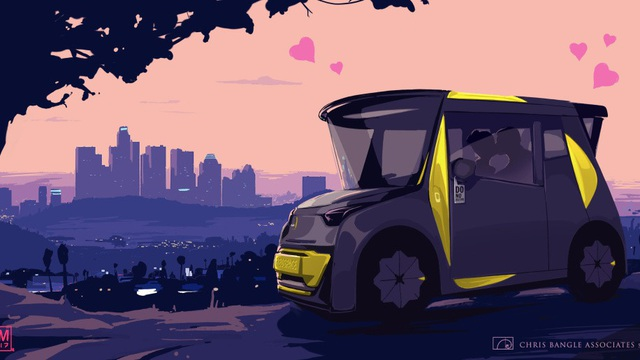 """Nhà thiết kế """"huyền thoại"""" của BMW vẽ xe chạy điện cho Trung Quốc - 1"""
