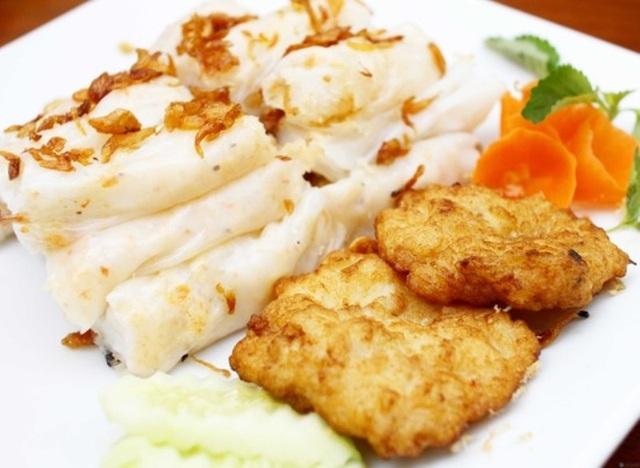 Hương vị thơm ngon của món ăn được tạo nên bởi sự hòa quyện của các nguyên liệu.