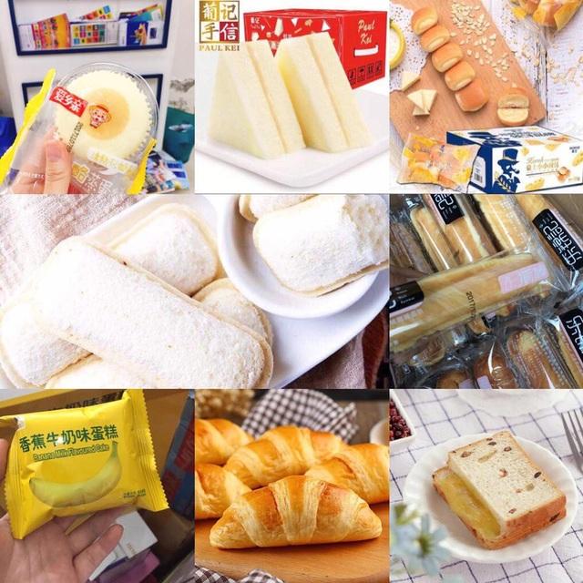 Bánh Trung Quốc được rao bán nhiều trên mạng xã hội
