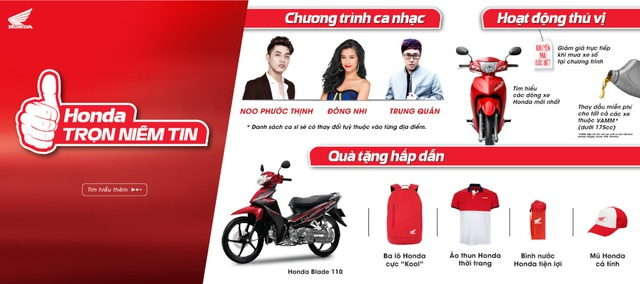 """Honda Việt Nam khởi động chuỗi chương trình """"Trọn niềm tin 2017"""" - 1"""