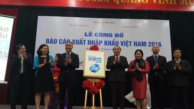 Lễ công bố Báo cáo xuất nhập khẩu Việt Nam 2016