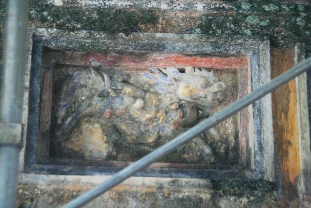 Rất nhiều biểu tượng trang trí cho vương triều Nguyễn
