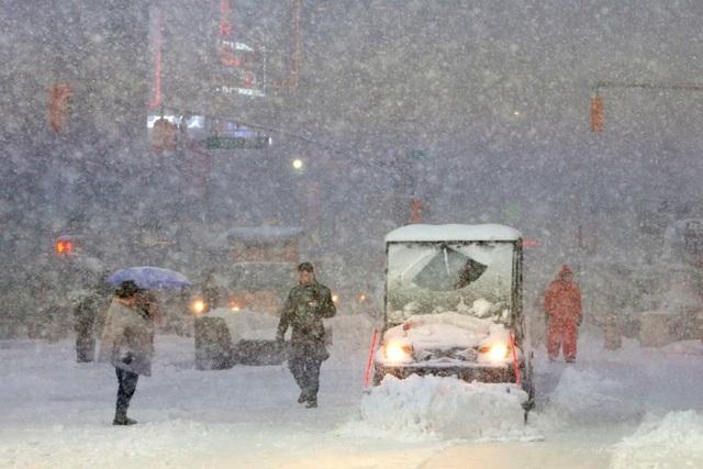 Trận bão tuyết ở New York hôm qua đã khiến 1 người đàn ông thiệt mạng