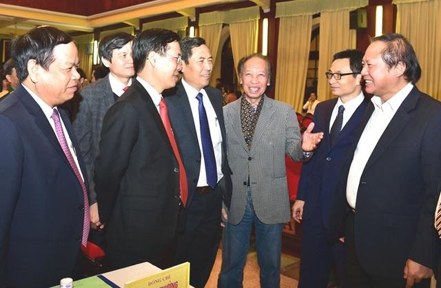 Các đại biểu tham dự Hội nghị báo chí toàn quốc năm 2016, triển khai nhiệm vụ năm 2017. Ảnh: VGP